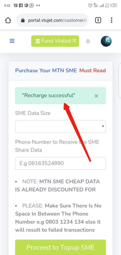Buy Cheap MTN SME Data Successfully
